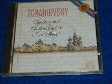 CD Lorin MAAZEL TCHAIKOVSKY Symphony n°4 CBS Made in Japan 1984 Cleveland