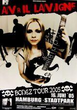 LAVIGNE, AVRIL - 2005 - Konzertplakat - Concert - Bonez - Tourposter - Hamburg