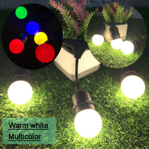 20M Outdoor Waterproof Globe G45 LED Bulb Warm white/ Multicolored String Lights