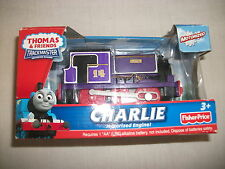 """Thomas TrackMaster Train """"Charlie"""" Brand NEW & Factory Sealed Battery Operated"""