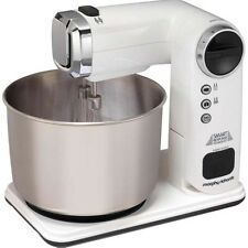 Folding Stand Mixer 3.5 Ltr Bowl 300 W Food Beater Kitchenware Accent White New