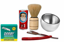 Shaving Grooming Cut Throat Barber Set a Unique Christmas Gift