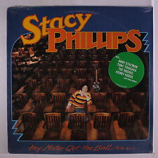 STACY PHILLIPS: Mey Mister Get The Ball LP Sealed (title toc) Rock & Pop