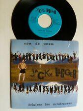 """JACKY LAGGER  Nom de Totem / Eclairez les éclaireuses 7"""" not on label J.L. 881"""