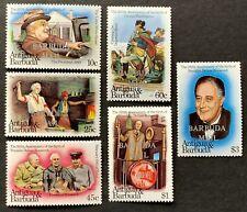 Antigua & Barbuda. Roosevelt & Washington. optd 'Barbuda Mail'. 1982. MNH. (P70)