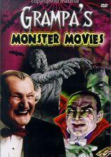 Grampa's Monster Movies (DVD, 2004) Vincent Price, Boris Karloff, Lon Chaney Jr.