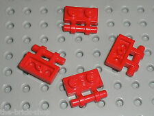 LEGO Red Plate 1 x 2 with Handle 2540 / Set 4022 7150 78744 7152 7262 6597 6484