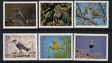 BIRDS :1987 JORDAN Birds set SG1514-19 never-hinged mint
