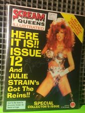 SCREAM QUEENS ILLUSTRATED #12 SIGNED BY JULIE STRAIN NUDE PICS