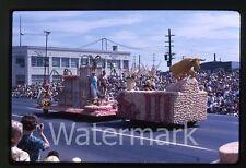 1963  Photo slide Porltand Rose Festival  OR parade float