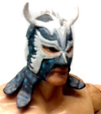"WWF WWE TNA Wrestling ULTIMO DRAGON 6"" toy action figure RARE, rey , cara"