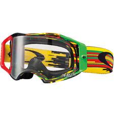 Oakley Airbrake MX Glitch Rasta motocross Brille crossbril downhill bmx 7046-35