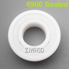 6900 Sealed Full Ceramic Zirconia Oxide Bearing ZrO2 10x22x 6mm Self-lubricating