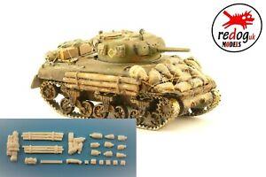 1:72 British WWII Sherman Tank Model Stowage kit  /s6