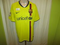 "FC Barcelona Original Nike Auswärts Trikot 2008-2010 ""UNICEF"" Gr.M TOP"