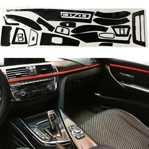 For BMW 3 Series 320i 328i F30 Carbon Fiber Interior Door Handle Bowl Trim Frame