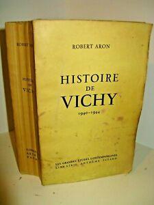 ROBERT ARON HISTOIRE DE VICHY 1940-44 EO 1954 1 des 50 EX./Alfa DARLAN LAVAL