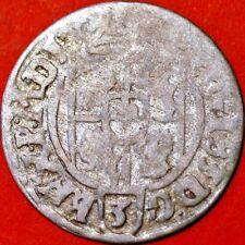 1626 Poland Medieval Sigismund III 1/24 Thaler. Silver Coin