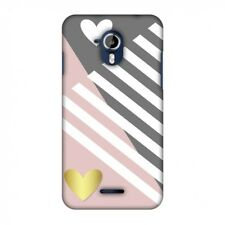 AMZER Snap On Case Geometric Shapes & Hearts HARD Plastic Protector Phone Case