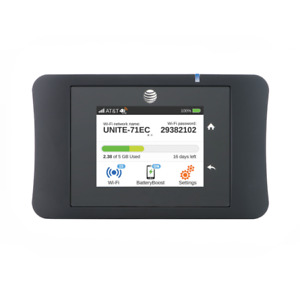 Unlocked AT&T Unite Pro Netgear Aircard AC781S 150Mbps 4G LTE WiFi Modem AWS B4