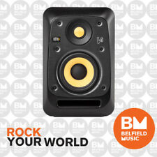 KRK V4 S4 Studio Monitor V-Series Active Powered Speaker 4'' 4 Inch