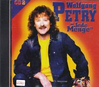 "Wolfgang Petry + CD + ""Jede Menge"" + Tolles Album mit 12 starken Hits + Volume 2"