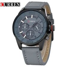Montre Militaire Top Qualité Curren Homme Cuir Men Watch PROMO