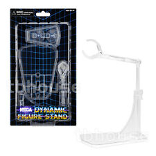 """1 x DYNAMIC FIGURE DISPLAY STAND adjustable FOR 5-10"""" ACTION FIGURES clear NECA"""