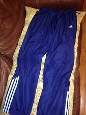 Adidas 3-Stripes Athletic Climalite Blue Sweat Pants Size M Charlotte Hornets