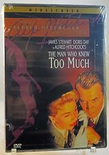 The Man Who Knew Too Much (DVD, 2001) - FACTORY SEALED