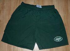 "Nfl-New York Jets-Sports/Cas.Shorts,Po ckets-Waist 34""-Bottle-Embroider ed-New"