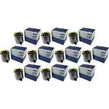 10x MAHLE / KNECHT Kraftstofffilter KL 440/15 Fuel Filter Nissan Qashqai +2 I