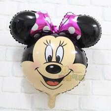 Disney Minnie Mouse Head Foil Balloon Birthday Party Decoration party Air/Helium