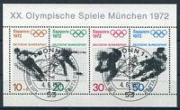 Bund Block 6 gestempelt ESST Bonn BRD 684 - 687 Olympische Spiele Sapporo used