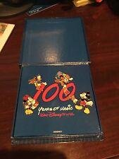 WDW - 100 Years of Magic 4 Pin Box Set - Mickey, Minnie, Donald, Goofy - Fab 4