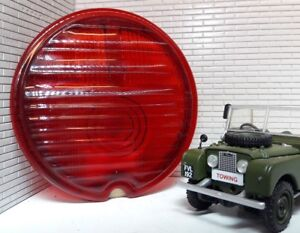 Land Rover Series 1 86 107 Lucas Repro ST38 Rear Tail Light Replacement Red Lens