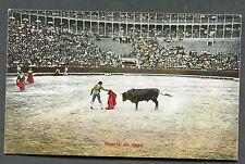 C1920's View of a Spanish Bull Fight 'Suerie de Capa'