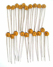 6pF 50V NP0 Ceramic Disc Capacitors: Ideal for RF Circuits. 20/Lot: Rare Value