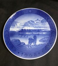Royal Copenhagen Made In Denmark Decorative Plate The Last Umiak