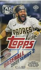 2021 Topps Series 2 Hobby Box Factory Sealed 1 Auto/Relic + 1 Silver Pack