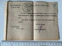 Mitteilung 1937 Amtsgericht Stolp Pommern heute Polen Słupsk nach Berlin-Spandau