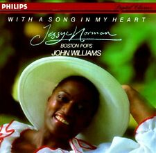 Jessye Norman: With a Song In My Heart (Silver Hub CD, Philips W Germany Import)