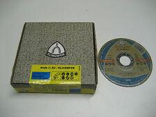 "KLINGSPOR A60 EXTRA THIN CUTTING DISC 115mm / 4 1/2"" (4 x Box of 25 = 100)"