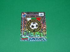 N°282 BADGE ECUSSON BULGARIA PANINI FOOTBALL FRANCE 98 1998 COUPE MONDE WM
