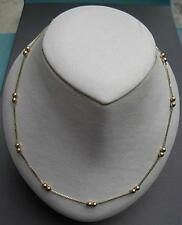 14k solid gold chain 42 cm  1mm wide  50% off from 599.99
