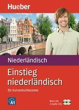 Niederländisch Einstieg Sprachkurs Buch + 2 Audio CD
