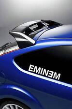2X EMINEM  car/laptop stickers/decals window VINYL