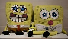 LARGE SIZED SPONGE BOB SQUARE PANTS SOFT TOY STAR EYES Or BABY WITH NAPPY