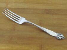 "Wallace Orchid Elegance Sterling Dinner Fork 7 7/8"" No Mono Flatware Silverware"