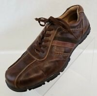 Bass Oxford Toby Brown Leather Lace Up Mens Shoes Size 10.5M